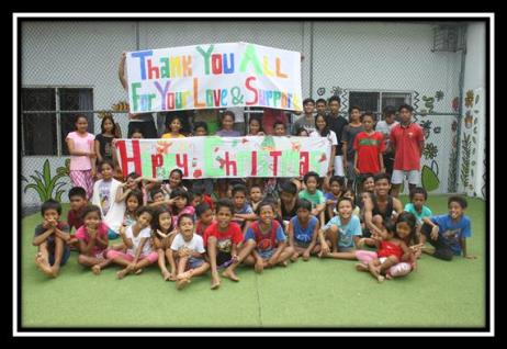 Jodie O'Shea Orphanage Thank you